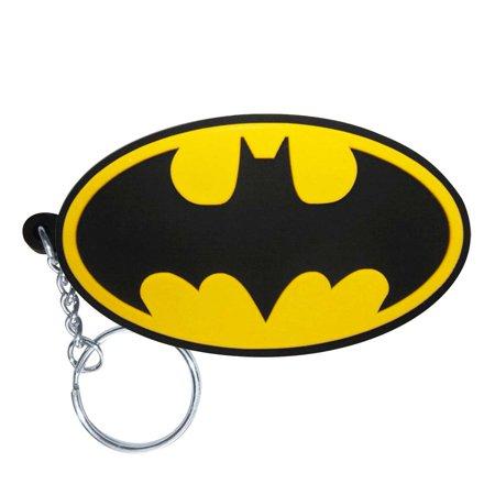 Rubber Duckie Keychain (Batman Logo Rubber Keychain)