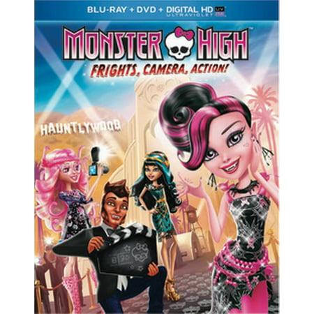 Monster High: Frights, Camera, Action! - Monster High Movie Order