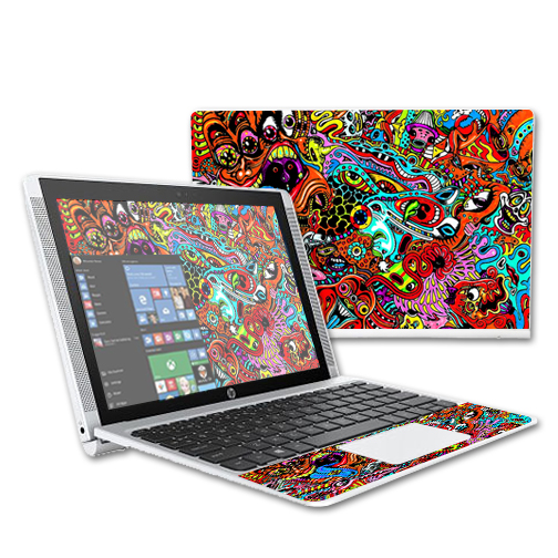 """MightySkins Protective Vinyl Skin Decal for HP Pavilion x2 10.1"""" (2015) Laptop case wrap cover sticker skins"""