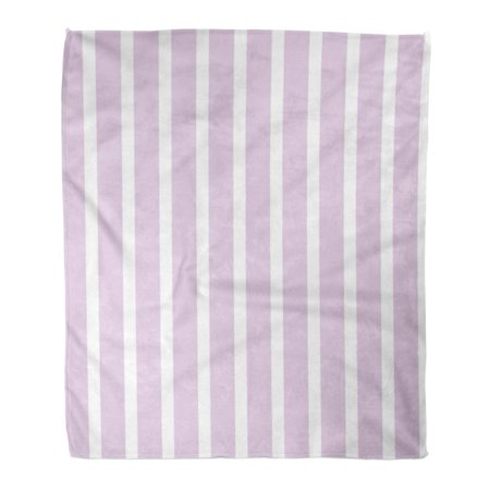 ASHLEIGH Throw Blanket Warm Cozy Print Flannel Gray Abstract Striped Pattern Purple Stripes Pink Bright Comfortable Soft for Bed Sofa and Couch 58x80 Inches (Pink Striped Couch)