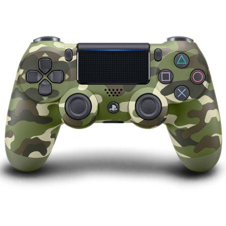 Sony PlayStation 4 DualShock 4 Controller, Green Camo, 711719504351