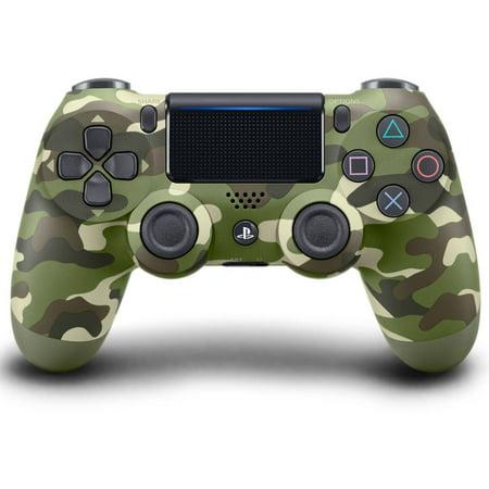 Sony PlayStation 4 DualShock 4 Controller, Green Camo, 711719504351