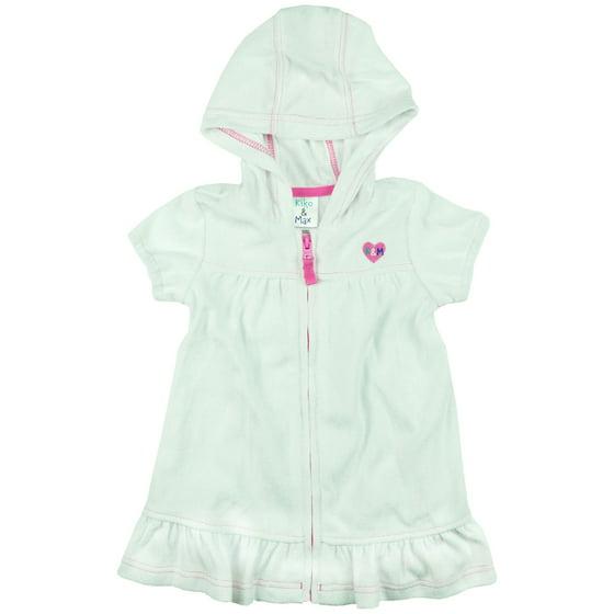 7c94ae4c1e Kiko   Max - Kiko   Max Infant Girls Swimwear Terry Beach Cover Up ...