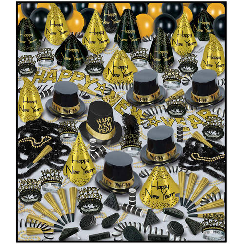 Ddi Golden Bonanza New Year's Party Assortment For 100 (pack Of 2)