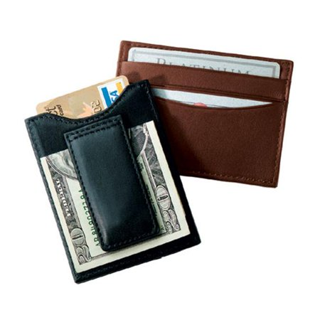 Royce Leather 111-COCO-5 Magnetic Money Clip Wallet - Coco - image 1 of 1