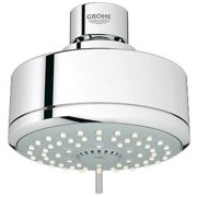 Grohe 26043000 New Tempesta Cosmopolitan 100 Shower Head with 4 Sprays, Available in Various Colors