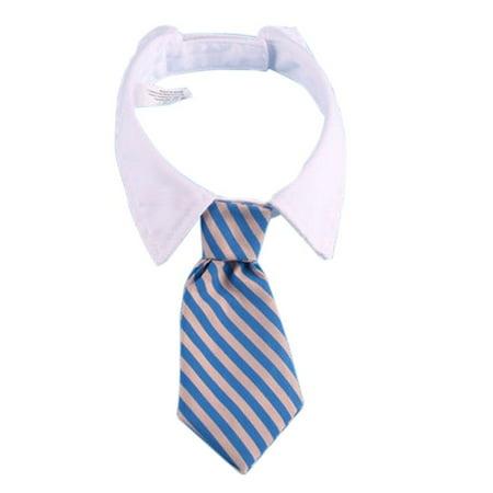 Pet Tie Puppy Necktie Adjustable Bow Tie Grooming for Dog