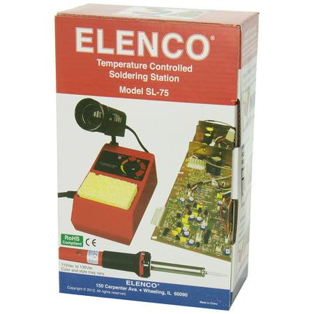 Elenco Soldering Station - 48 Watt With Iron Holder & Sponge - image 5 de 6
