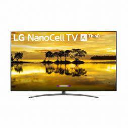 "LG 86"" Class 9 Series 4K (2160P) Ultra HD Smart LED HDR NanoCell TV 86SM9070PUA 2019 Model"