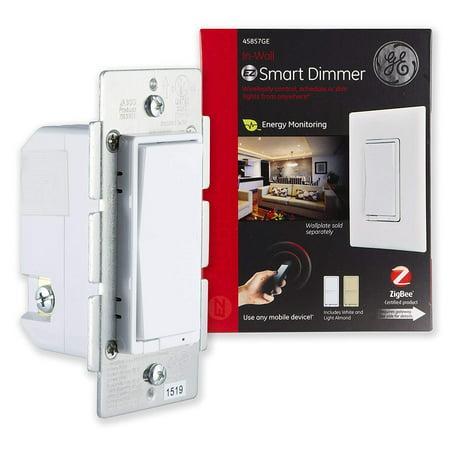 Ge Zigbee In Wall Smart Lighting Dimmer Hub Required 45857ge