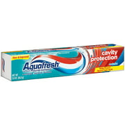 2 Pack - Aquafresh Cavity Protection Fluoride Toothpaste, Cool Mint 3 oz