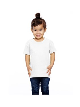 Fruit of the Loom Toddler's coverstitched bottom hem T-Shirt, Style T3930