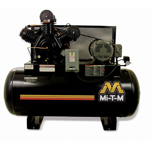 Mi-T-M 120 Gallon 10 HP Electric 2 Stage Stationary Air Compressor