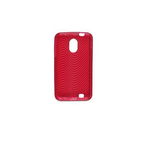 Wireless Solutions 378801 Waves Dura Gel Case - Epic Touch 4G Compatible, Red