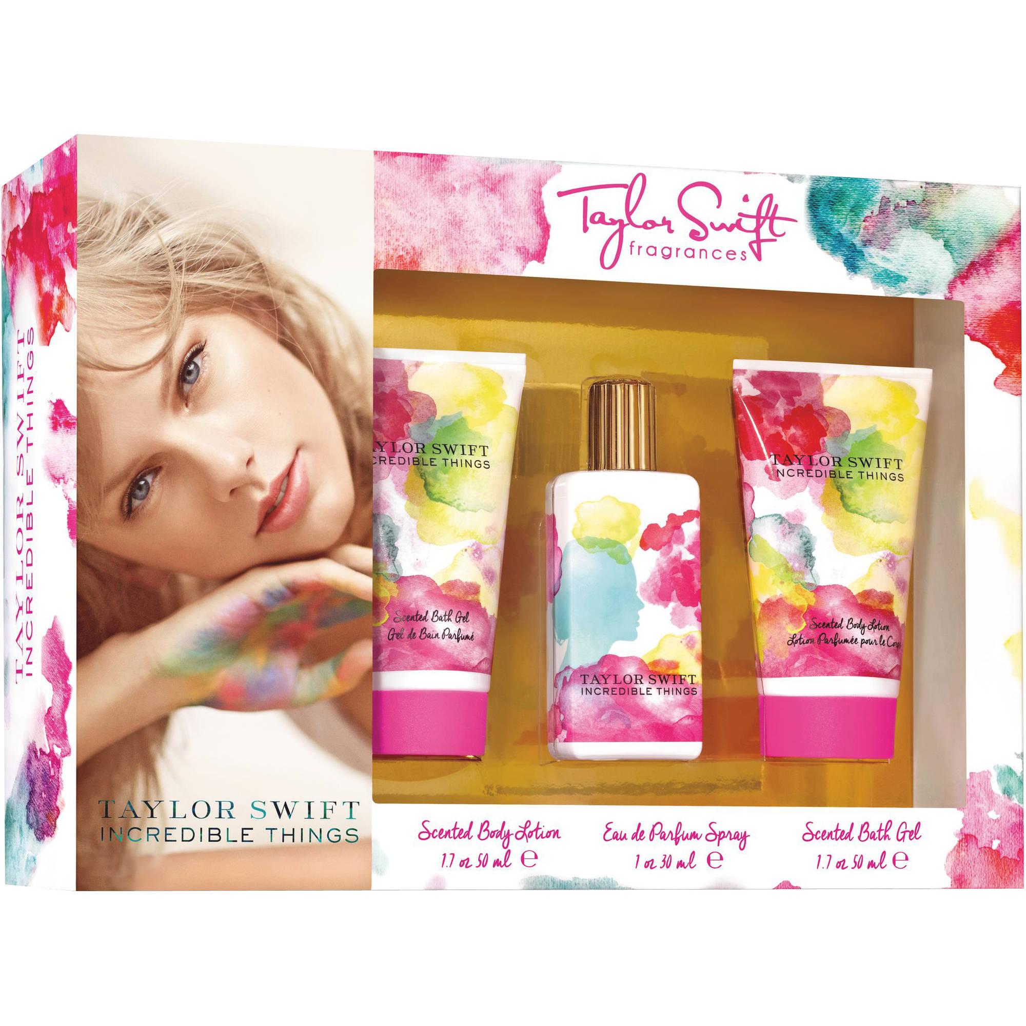 Taylor Swift Incredible Things Fragrance Gift Set 3 Pc Walmart Com Walmart Com