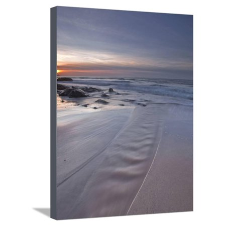 A Beautiful Sandy Beach Near Cap Frehel, Cote D'Emeraude (Emerald Coast), Brittany, France, Europe Stretched Canvas Print Wall Art By Julian