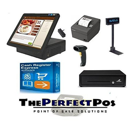 Point of Sale All in One Solution for Retail Featuring Cash Register Express - Walmart.com