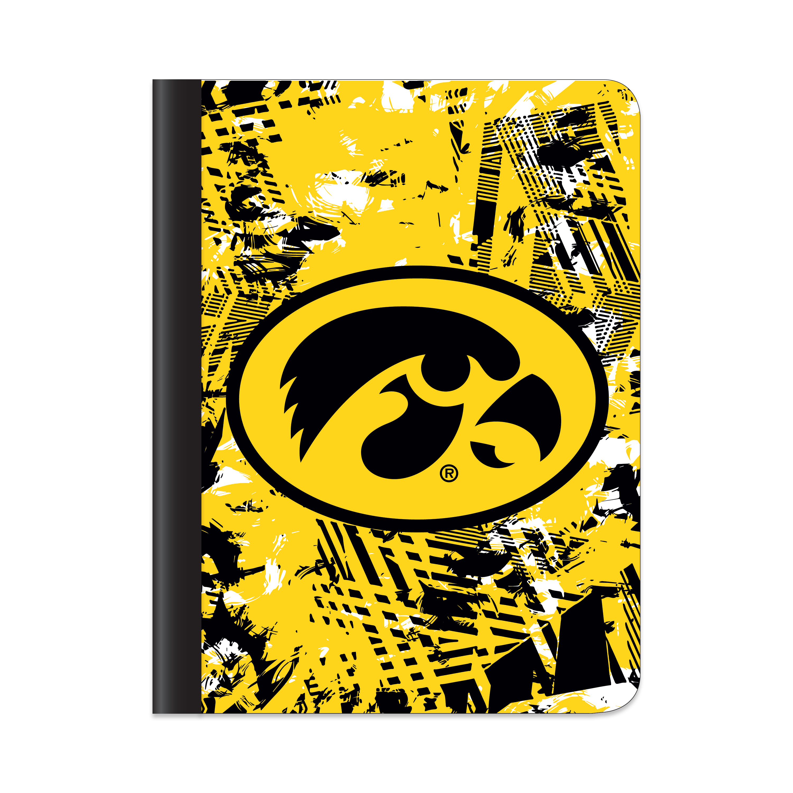 IOWA HAWKEYES ACTIVE STATIC COMPOSITION BOOK