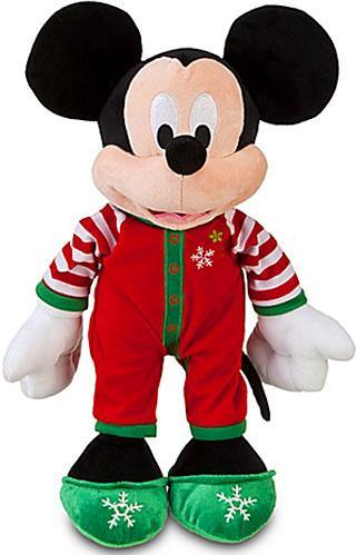Disney Share the Magic Holiday Pajamas Mickey Mouse Plush by