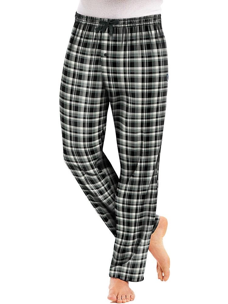 Men`s Flannel Pants with Comfort Flex Waistband, 02006/02006X, S