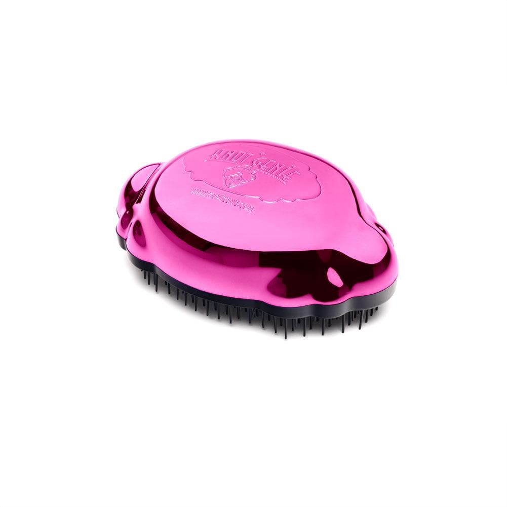Knot Genie Teeny Shower Tangle Hair Brush Teezer Wet Hair Pink, PEACEFUL PINK, 7684