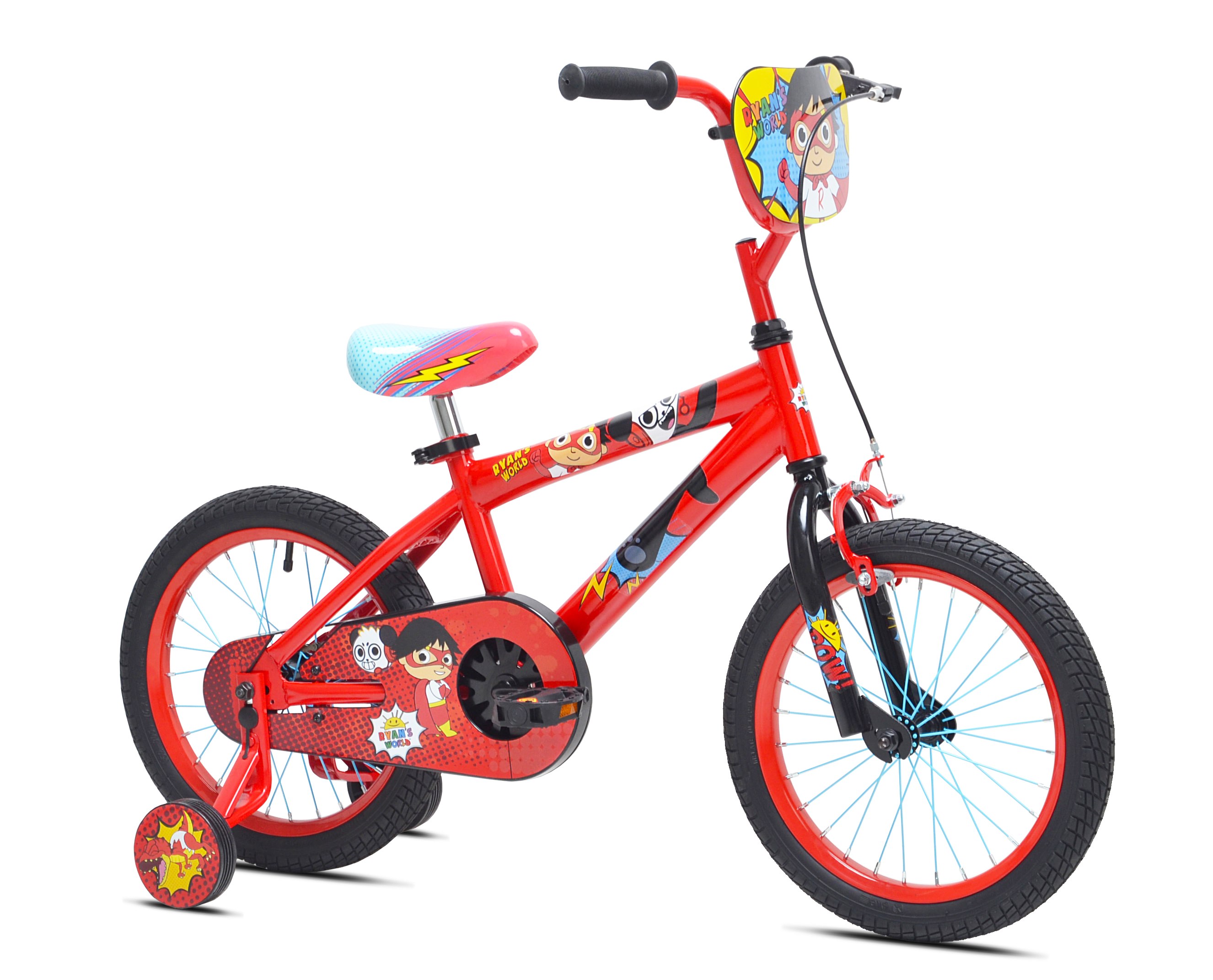 "Ryan's World 16"" Red Titan Boy's Bicycle, Red, For Height Sizes 3'2"" and Up by Kent International Inc"