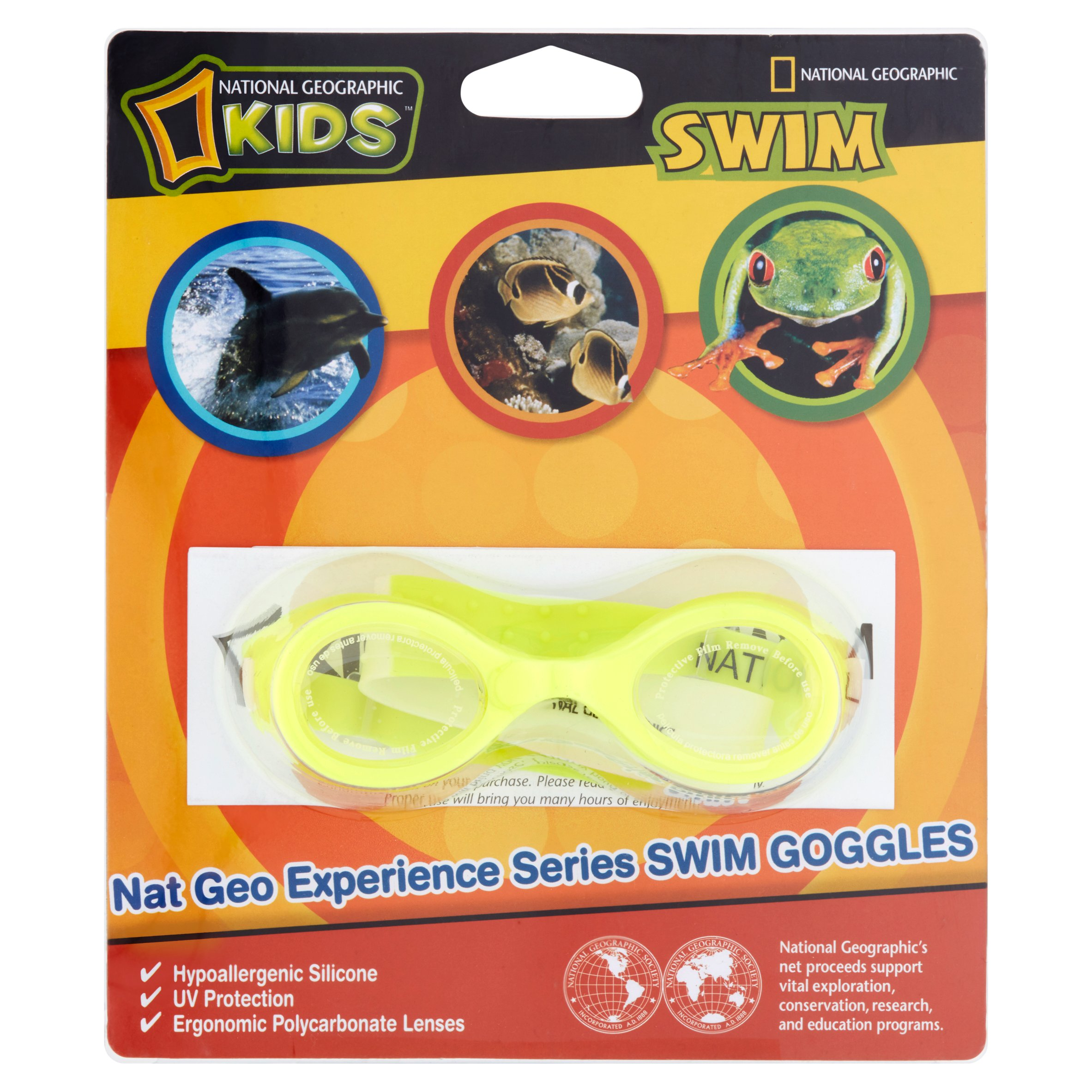National Geographic Kids Swim Goggles by Wal-Mart Stores, Inc.