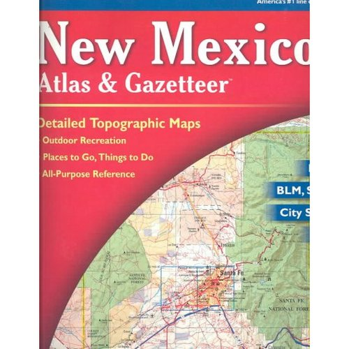 DeLorme New Mexico Atlas & Gazetteer