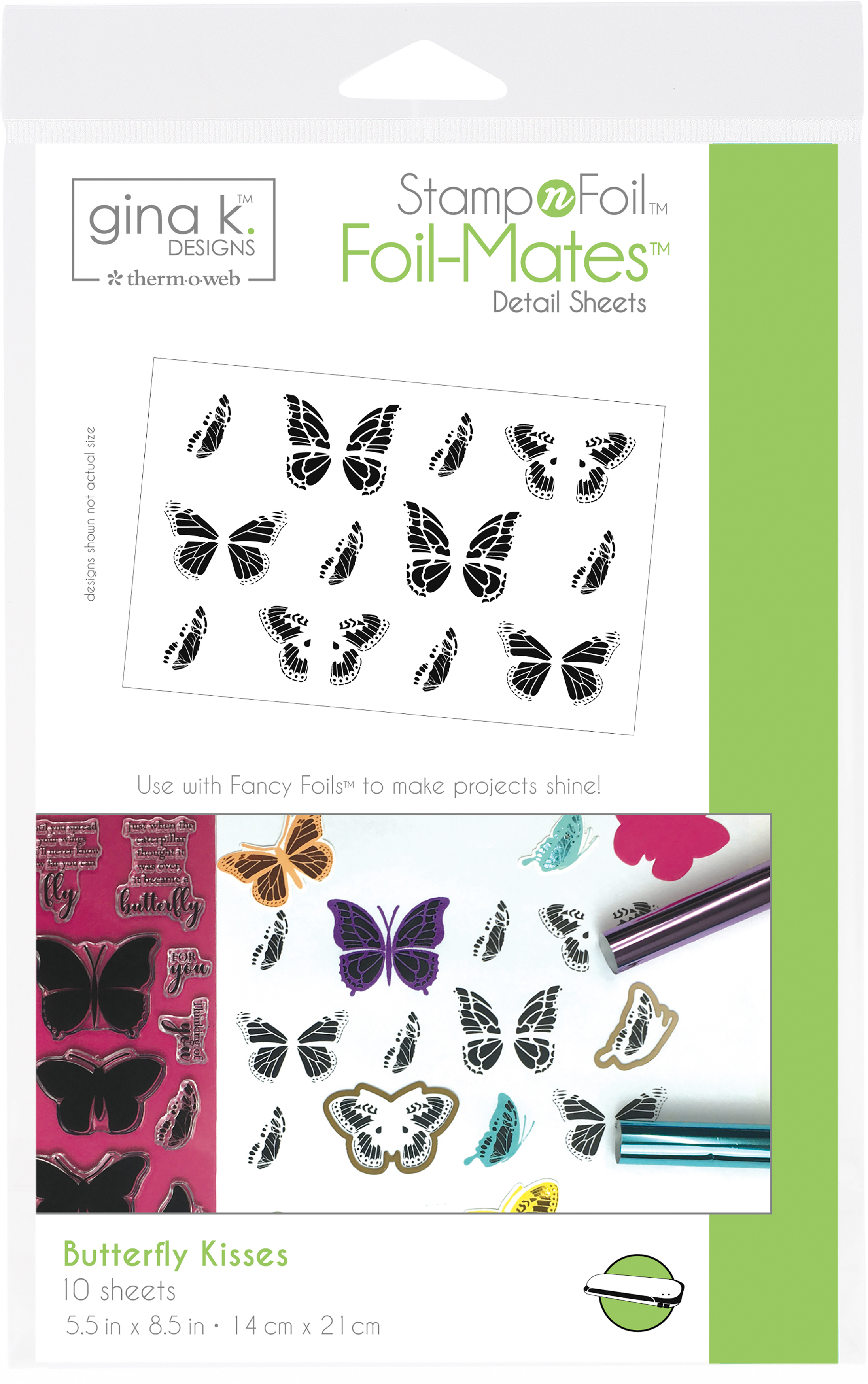 "Gina K Designs Masking Magic Sheets 5/""X7/"" 12//Pkg-18123"