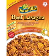 Sam Mills Gluten Free Dinner Kit, Beef Lasagna, 6.5 Oz
