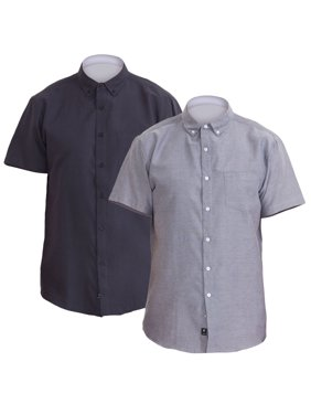 f5140268cac Mens Big   Tall Dress Shirts - Walmart.com
