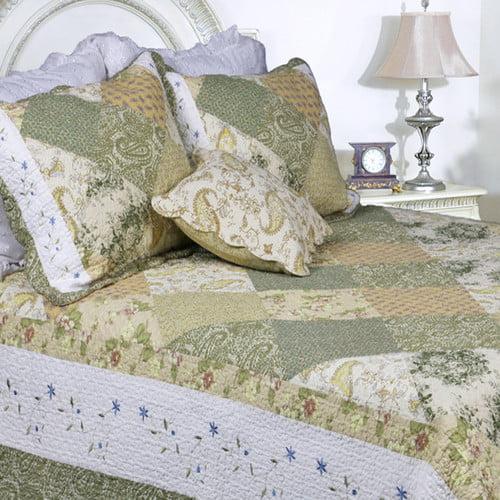 Cozy Line Home Fashion Laura Patchwork Quilt Set