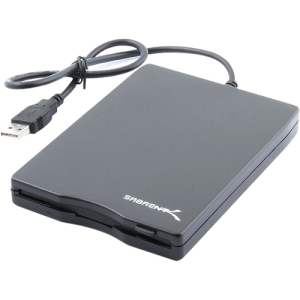 SABRENT USB 1.44MB FLOPPY DRIVE PORTABLE BLACK
