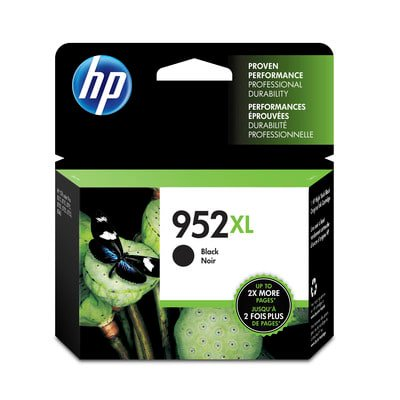 Hp 952XL Black High Yield Original Ink Cartridge (F6U19AN) ()
