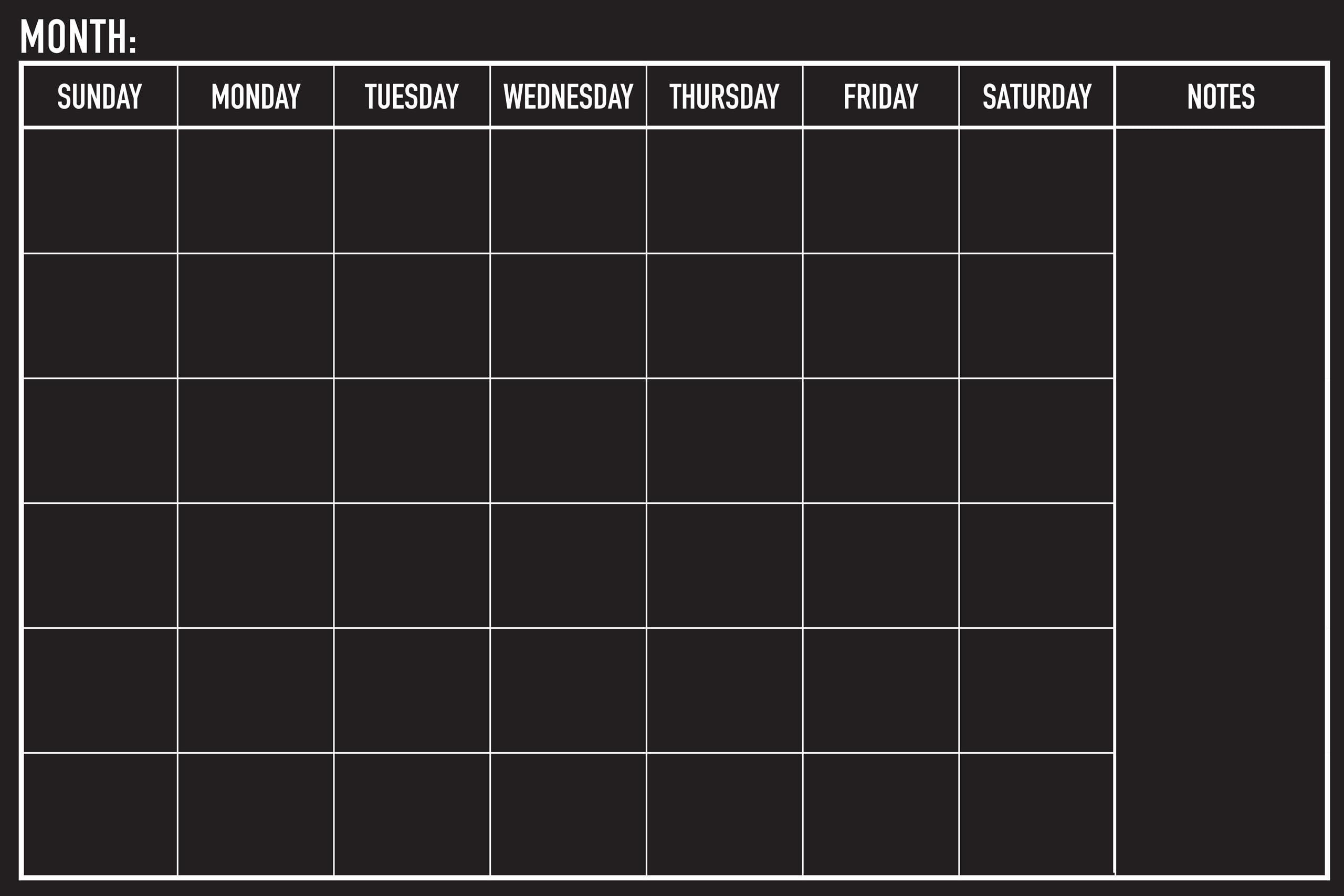 Chalkboard Calendar Walmart : Peter pauper press peel stick month chalkboard calendar