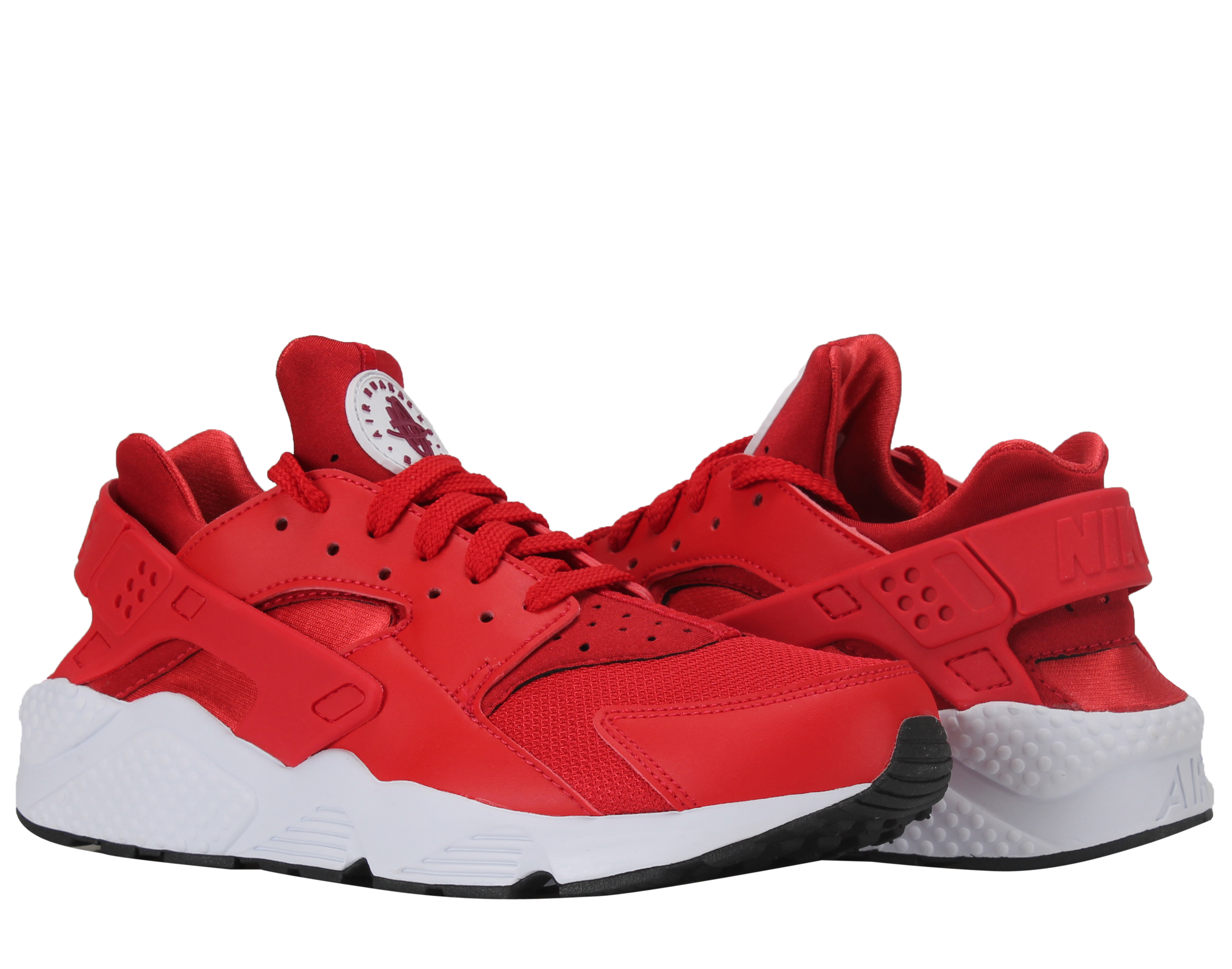 Nike Air Huarache University Red Berry-White Men's Running Shoes 318429-604 by Nike