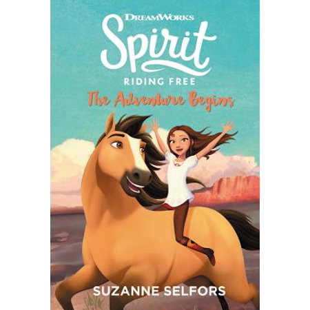 Spirit Riding Free: The Adventure Begins (Free Spirit Little Roses)