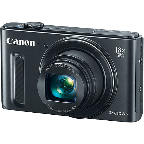 Canon PowerShot SX610 HS Digital Camera with 20.2 Megapixels and 18x Optical Zoom