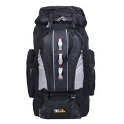 100L Large Capacity Outdoor Luggage Bag Military Tactical Backpack Rucksack Sport Shoulder Bag, For Hiking Camping Backpacking Touring, Waterproof & Breathable