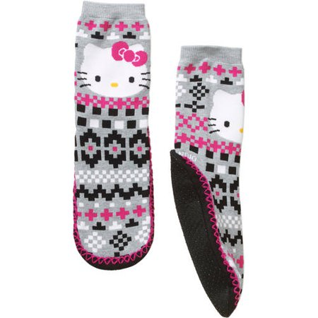 Hello Kitty Knitting Pattern Socks : Product