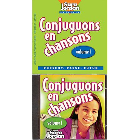 CONJUGUONS EN CHANSONS: 1 ((Songs That Teach French Serie) (Audio CD)](Halloween French Songs)