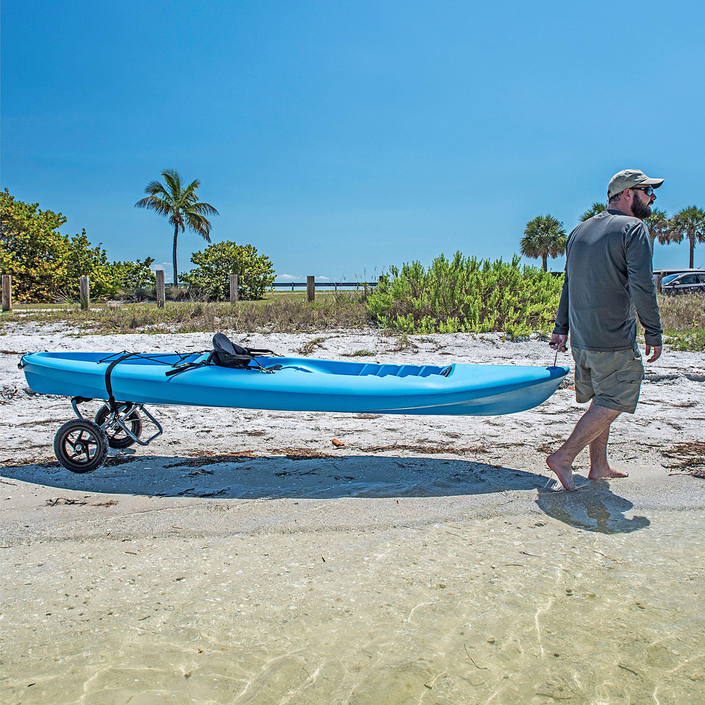 Propel Paddle Gear Kayak Accessories Aluminum Wheel Carrier by Shoreline Marine
