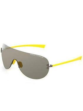 2997885eb2 Product Image Under Armour UA Split Shield Mens Sunglasses Satin Gunmetal  Yellow Grey   Bronze