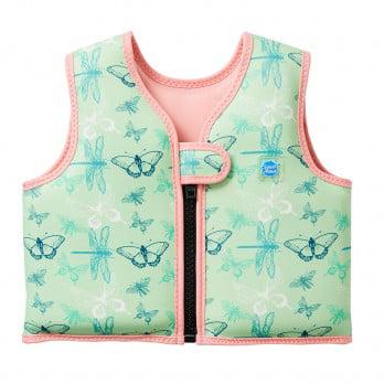 Kids Go Splash Float Jacket Swim Vest Dragonfly 1-2 Years