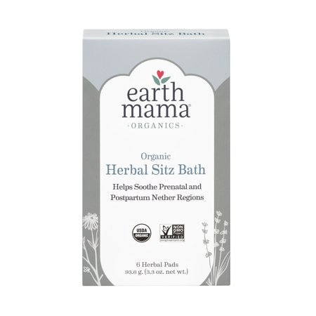 Organic Herbal Sitz Bath - 6 ct.