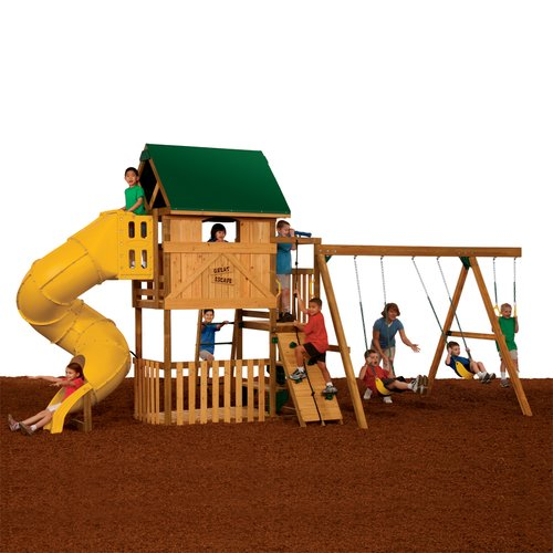 PlayStar Great Escape Ready-to-Assemble Silver Play Set