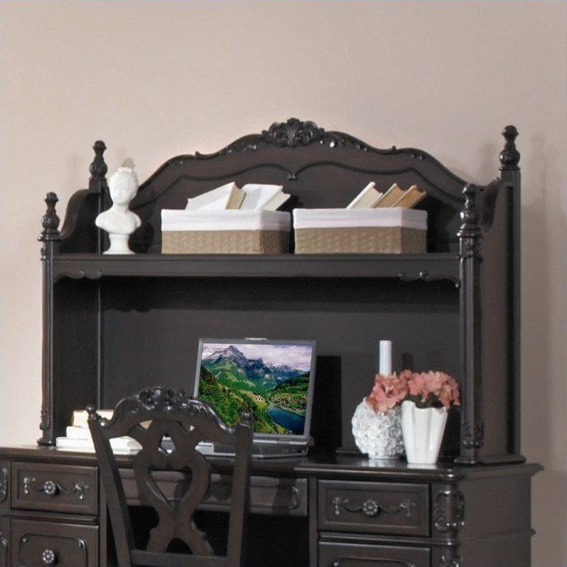 Homelegance Trent Home Cinderella Writing Desk Hutch in D...