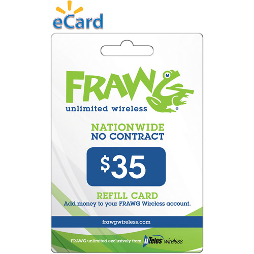 Ntelos Frawg $35 (email Delivery)