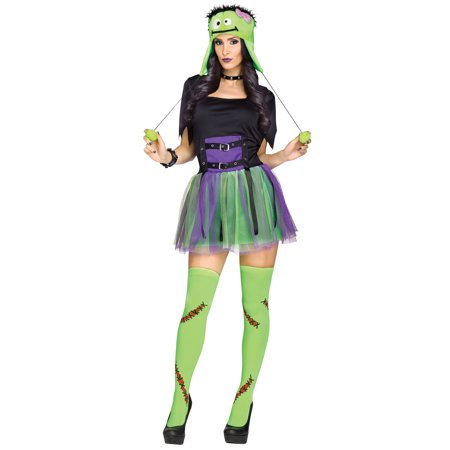Green Baby Frankie Monster Frankenstein Adult Halloween Costume (Monster Baby Halloween Costume)