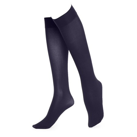 Soft Opaque Knee High Socks